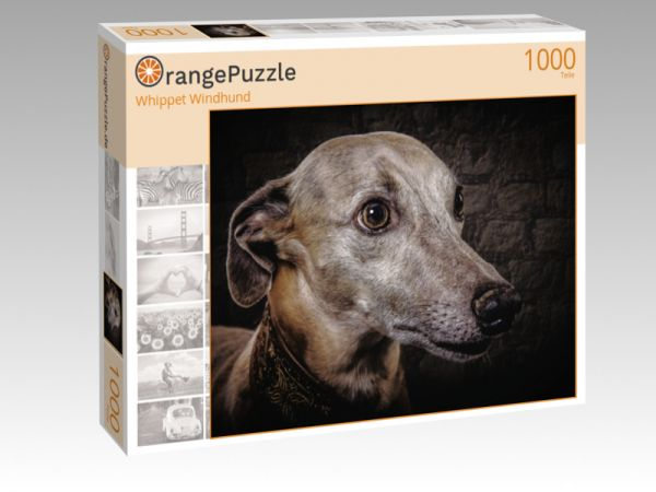 "Puzzle Motiv ""Whippet Windhund"" - Puzzle-Schachtel zu 1000 Teile Puzzle"