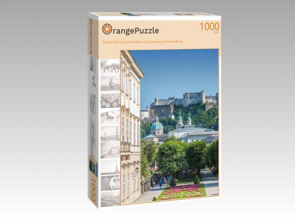 """Puzzle Motiv """"SALZBURG Grandioser Blick auf die Festung Hohensalzburg"""" - Puzzle-Schachtel zu 1000 Teile Puzzle"""