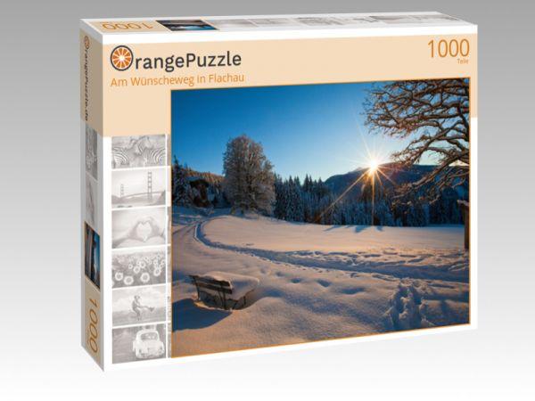 """Puzzle Motiv """"Am Wünscheweg in Flachau"""" - Puzzle-Schachtel zu 1000 Teile Puzzle"""
