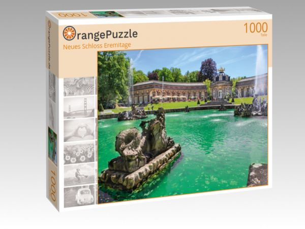 "Puzzle Motiv ""Neues Schloss Eremitage"" - Puzzle-Schachtel zu 1000 Teile Puzzle"