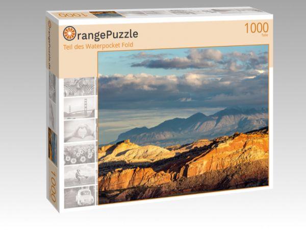 """Puzzle Motiv """"Teil des Waterpocket Fold"""" - Puzzle-Schachtel zu 1000 Teile Puzzle"""