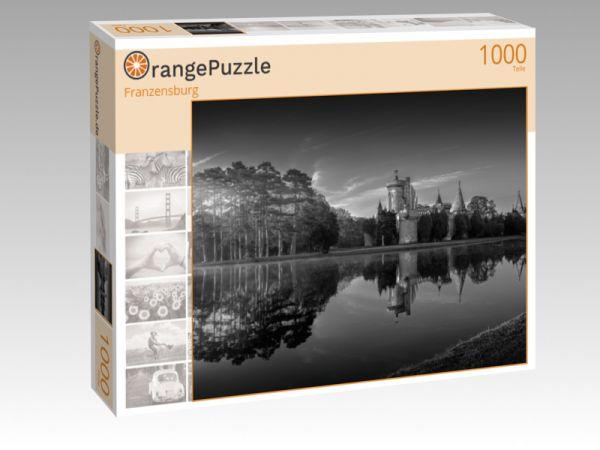 "Puzzle Motiv ""Franzensburg"" - Puzzle-Schachtel zu 1000 Teile Puzzle"