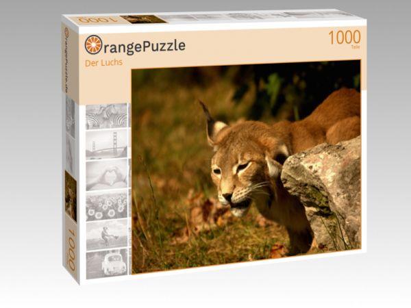 "Puzzle Motiv ""Der Luchs"" - Puzzle-Schachtel zu 1000 Teile Puzzle"
