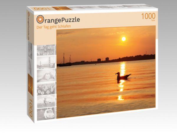 """Puzzle Motiv """"Der Tag geht Schlafen"""" - Puzzle-Schachtel zu 1000 Teile Puzzle"""