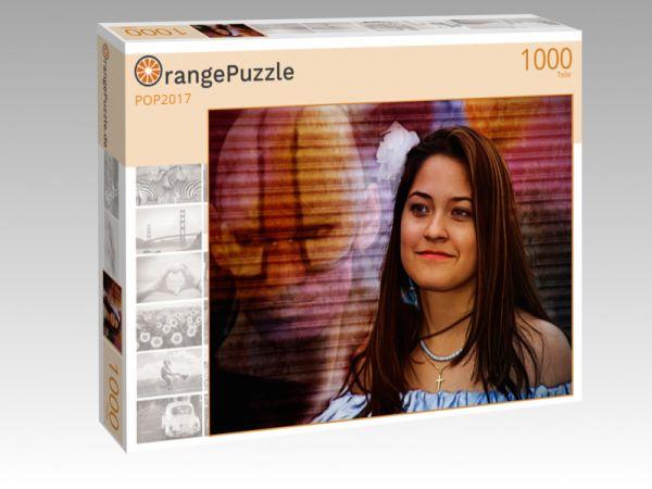 """Puzzle Motiv """"POP2017"""" - Puzzle-Schachtel zu 1000 Teile Puzzle"""