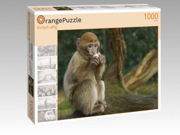 "Puzzle Motiv ""Einfach affig"" - Puzzle-Schachtel zu 1000 Teile Puzzle"