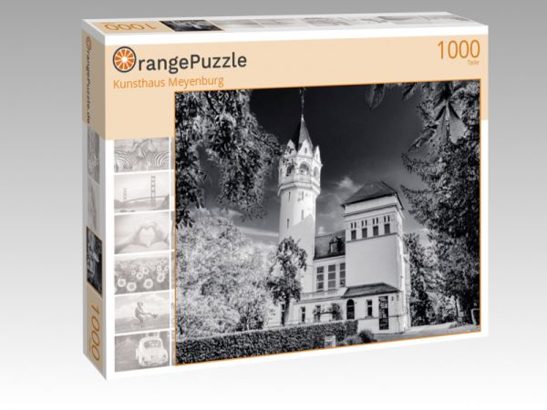 "Puzzle Motiv ""Kunsthaus Meyenburg"" - Puzzle-Schachtel zu 1000 Teile Puzzle"