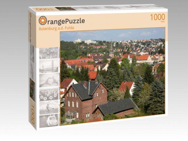 "Puzzle Motiv ""Rotenburg a.d. Fulda"" - Puzzle-Schachtel zu 1000 Teile Puzzle"