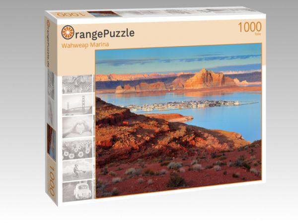 """Puzzle Motiv """"Wahweap Marina"""" - Puzzle-Schachtel zu 1000 Teile Puzzle"""