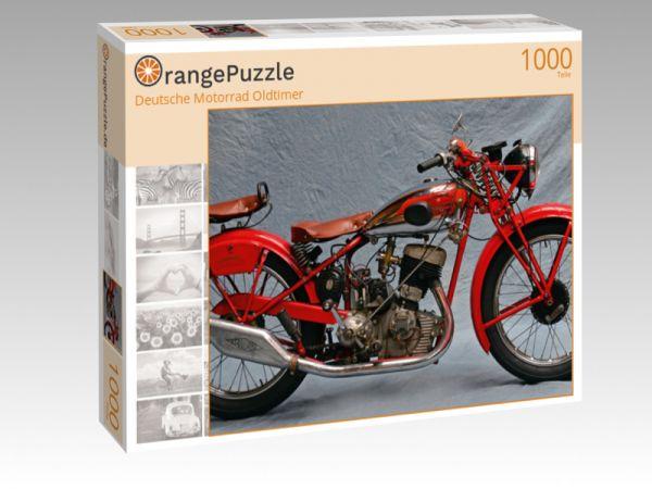 """Puzzle Motiv """"Deutsche Motorrad Oldtimer"""" - Puzzle-Schachtel zu 1000 Teile Puzzle"""