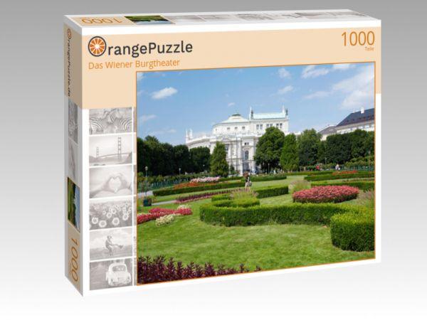 """Puzzle Motiv """"Das Wiener Burgtheater"""" - Puzzle-Schachtel zu 1000 Teile Puzzle"""