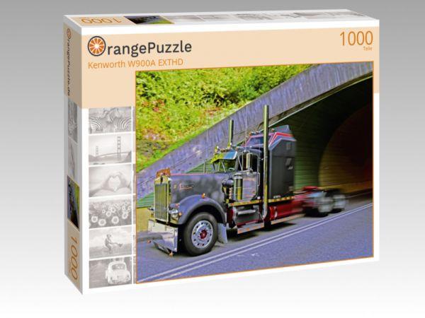"Puzzle Motiv ""Kenworth W900A EXTHD"" - Puzzle-Schachtel zu 1000 Teile Puzzle"