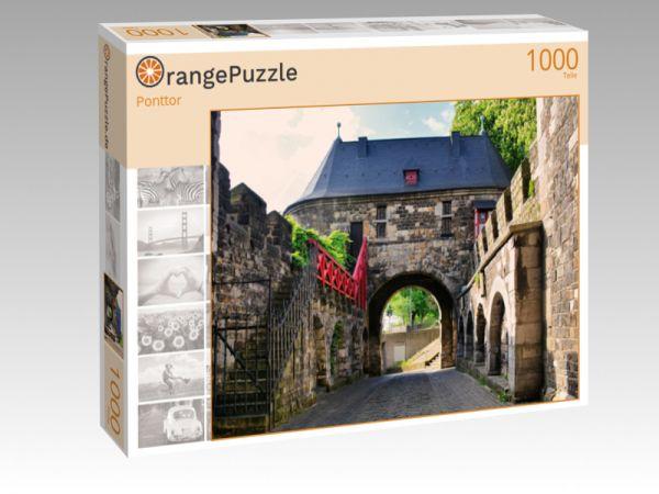 """Puzzle Motiv """"Ponttor"""" - Puzzle-Schachtel zu 1000 Teile Puzzle"""