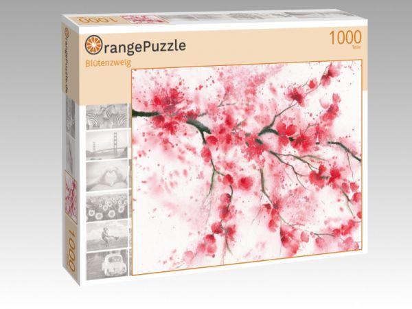 "Puzzle Motiv ""Blütenzweig"" - Puzzle-Schachtel zu 1000 Teile Puzzle"