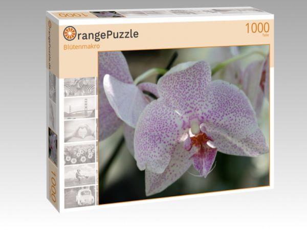 """Puzzle Motiv """"Blütenmakro"""" - Puzzle-Schachtel zu 1000 Teile Puzzle"""
