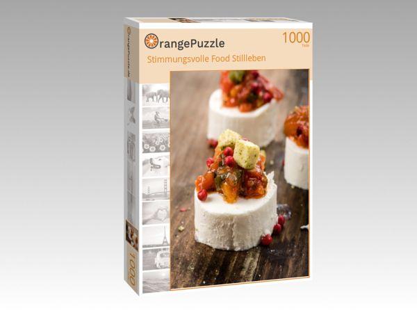 """Puzzle Motiv """"Stimmungsvolle Food Stillleben"""" - Puzzle-Schachtel zu 1000 Teile Puzzle"""
