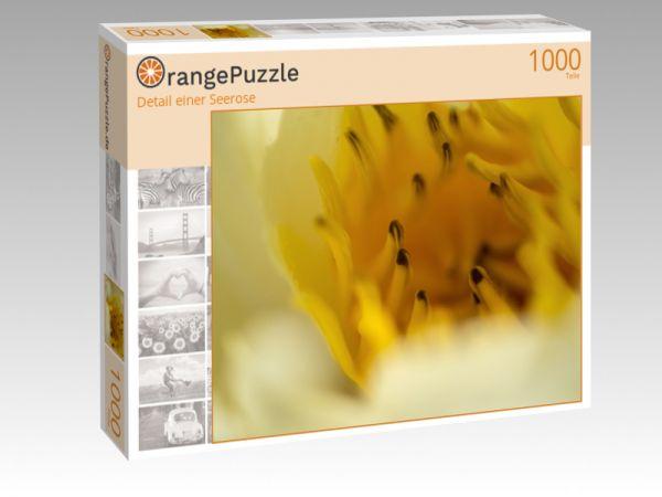 """Puzzle Motiv """"Detail einer Seerose"""" - Puzzle-Schachtel zu 1000 Teile Puzzle"""