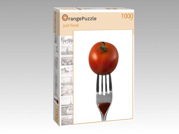 """Puzzle Motiv """"Just Food"""" - Puzzle-Schachtel zu 1000 Teile Puzzle"""
