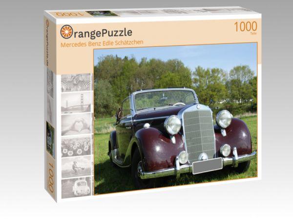 """Puzzle Motiv """"Mercedes Benz Edle Schätzchen"""" - Puzzle-Schachtel zu 1000 Teile Puzzle"""