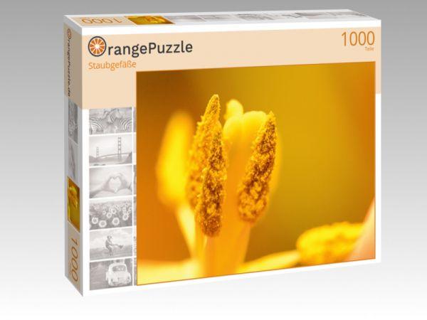 """Puzzle Motiv """"Staubgefäße"""" - Puzzle-Schachtel zu 1000 Teile Puzzle"""