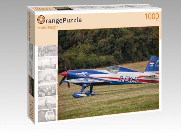 """Puzzle Motiv """"Motorflieger"""" - Puzzle-Schachtel zu 1000 Teile Puzzle"""