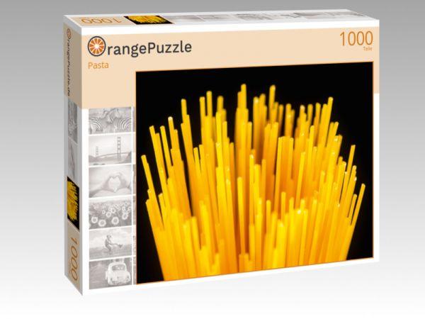 """Puzzle Motiv """"Pasta"""" - Puzzle-Schachtel zu 1000 Teile Puzzle"""