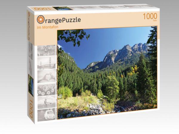 """Puzzle Motiv """"Im Montafon"""" - Puzzle-Schachtel zu 1000 Teile Puzzle"""