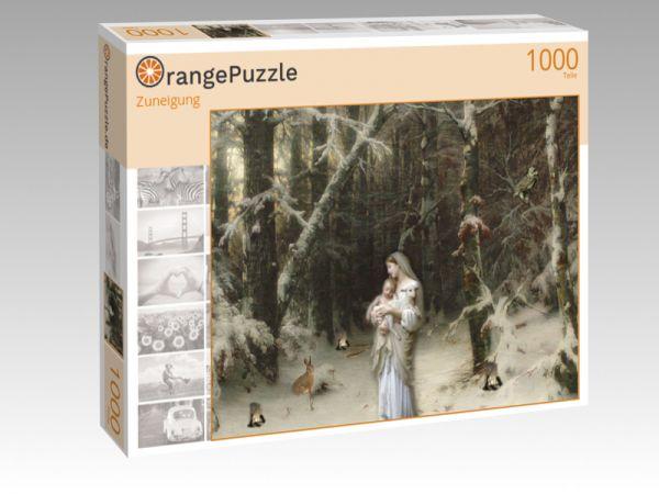 """Puzzle Motiv """"Zuneigung"""" - Puzzle-Schachtel zu 1000 Teile Puzzle"""