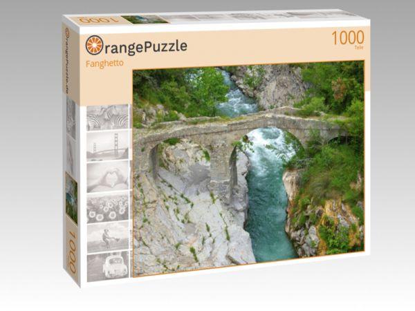 """Puzzle Motiv """"Fanghetto"""" - Puzzle-Schachtel zu 1000 Teile Puzzle"""