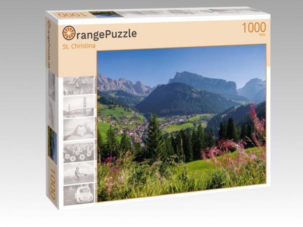 """Puzzle Motiv """"St. Christina"""" - Puzzle-Schachtel zu 1000 Teile Puzzle"""