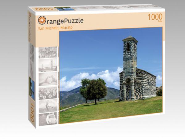 """Puzzle Motiv """"San Michele, Murato"""" - Puzzle-Schachtel zu 1000 Teile Puzzle"""