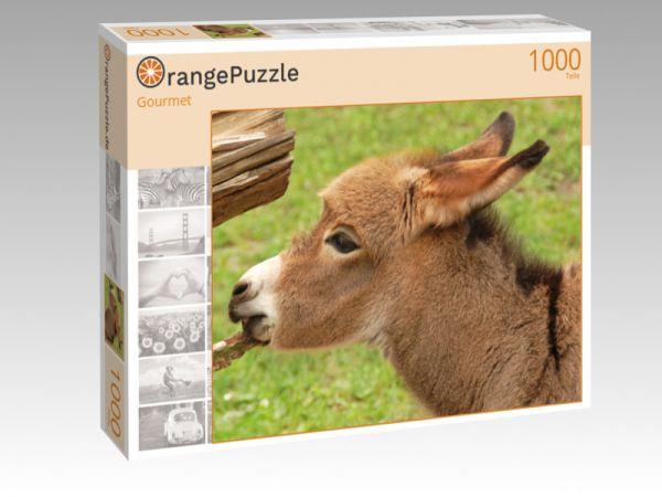 """Puzzle Motiv """"Gourmet"""" - Puzzle-Schachtel zu 1000 Teile Puzzle"""