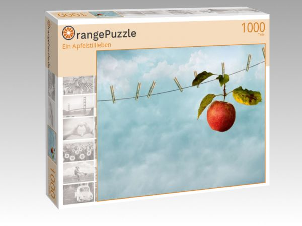 """Puzzle Motiv """"Ein Apfelstillleben"""" - Puzzle-Schachtel zu 1000 Teile Puzzle"""