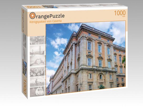 """Puzzle Motiv """"Königspalast von Caserta"""" - Puzzle-Schachtel zu 1000 Teile Puzzle"""