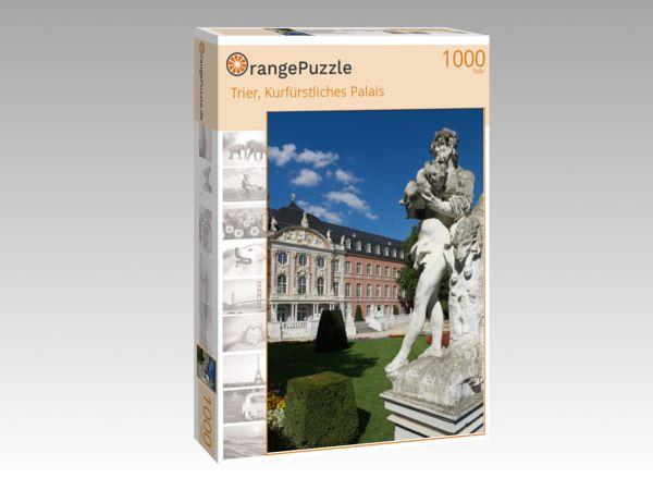 "Puzzle Motiv ""Trier, Kurfürstliches Palais"" - Puzzle-Schachtel zu 1000 Teile Puzzle"