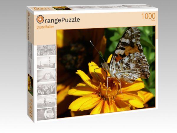 "Puzzle Motiv ""Distelfalter"" - Puzzle-Schachtel zu 1000 Teile Puzzle"