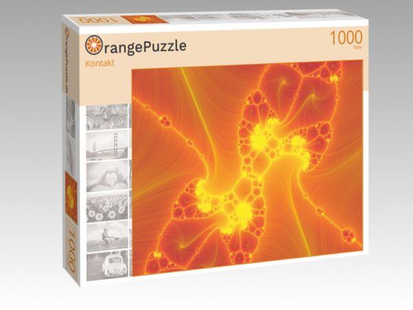 """Puzzle Motiv """"Kontakt"""" - Puzzle-Schachtel zu 1000 Teile Puzzle"""
