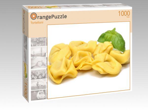 """Puzzle Motiv """"Tortelloni"""" - Puzzle-Schachtel zu 1000 Teile Puzzle"""