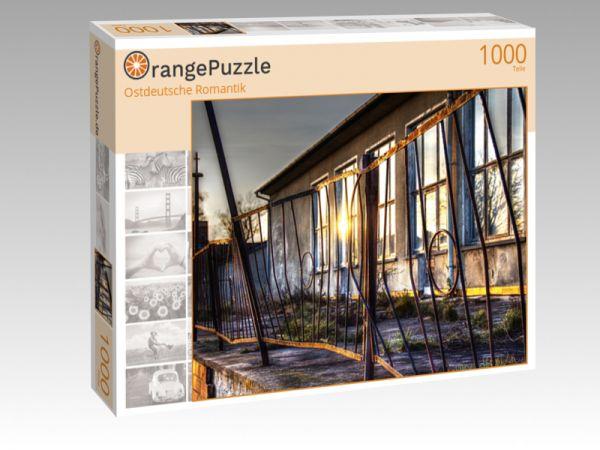 """Puzzle Motiv """"Ostdeutsche Romantik"""" - Puzzle-Schachtel zu 1000 Teile Puzzle"""