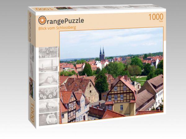 """Puzzle Motiv """"Blick vom Schlossberg"""" - Puzzle-Schachtel zu 1000 Teile Puzzle"""