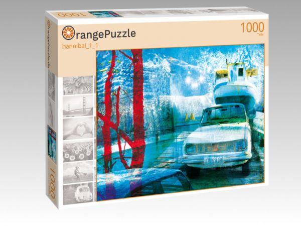 """Puzzle Motiv """"hannibal_1_1"""" - Puzzle-Schachtel zu 1000 Teile Puzzle"""