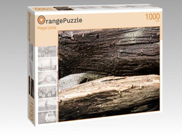 """Puzzle Motiv """"Playa Uvita"""" - Puzzle-Schachtel zu 1000 Teile Puzzle"""