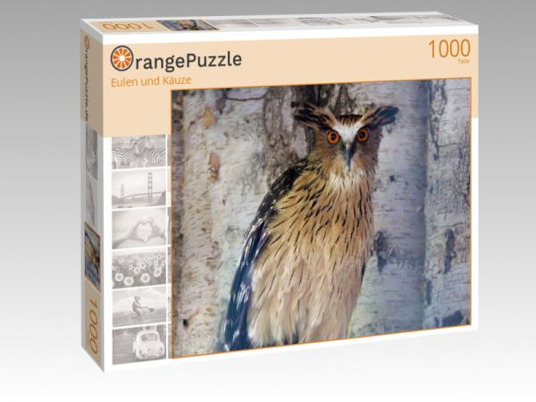 "Puzzle Motiv ""Eulen und Käuze"" - Puzzle-Schachtel zu 1000 Teile Puzzle"