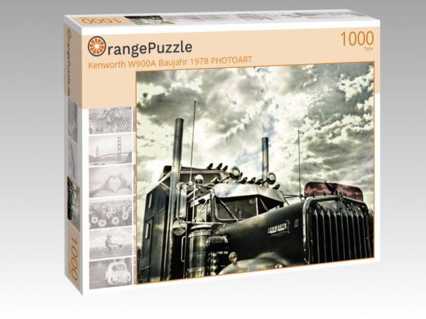 """Puzzle Motiv """"Kenworth W900A Baujahr 1978 PHOTOART"""" - Puzzle-Schachtel zu 1000 Teile Puzzle"""