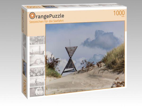 """Puzzle Motiv """"Seezeichen für die Seefahrt"""" - Puzzle-Schachtel zu 1000 Teile Puzzle"""