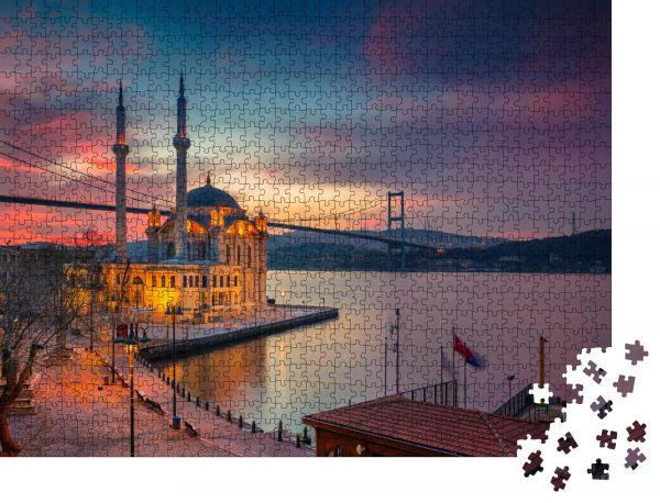 """Puzzle-Motiv """"Istanbul"""" - Puzzle-Schachtel zu 1000 Teile Puzzle"""