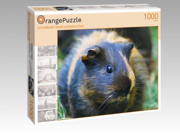 """Puzzle Motiv """"Schildblatt Meerschweinchen"""" - Puzzle-Schachtel zu 1000 Teile Puzzle"""