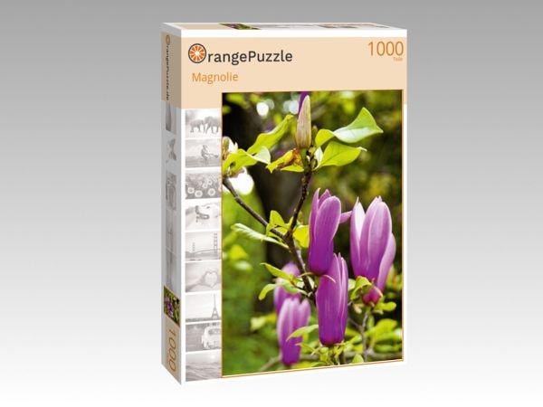 """Puzzle Motiv """"Magnolie"""" - Puzzle-Schachtel zu 1000 Teile Puzzle"""