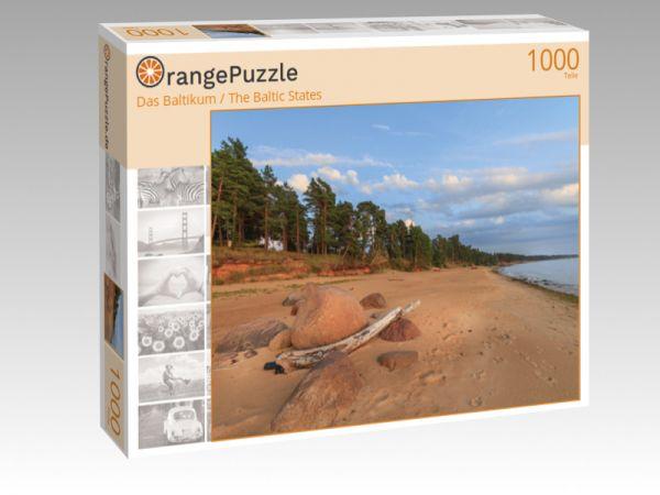 """Puzzle Motiv """"Das Baltikum / The Baltic States"""" - Puzzle-Schachtel zu 1000 Teile Puzzle"""