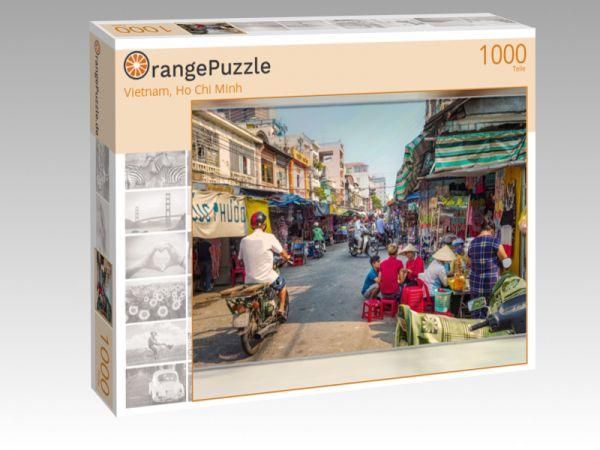 """Puzzle Motiv """"Vietnam, Ho Chi Minh"""" - Puzzle-Schachtel zu 1000 Teile Puzzle"""